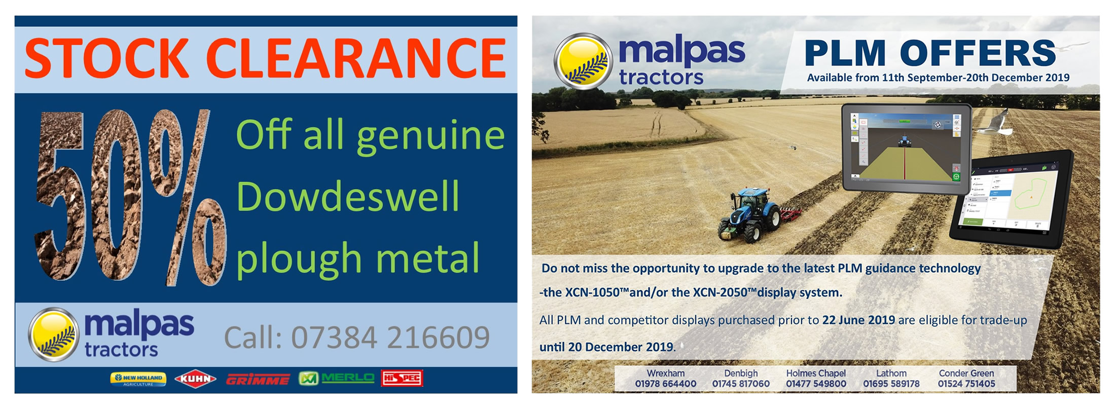 Malpas Tractors - Latest Offers