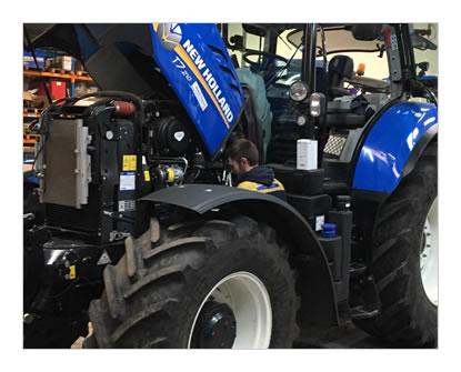New Holland Tractor Servicing