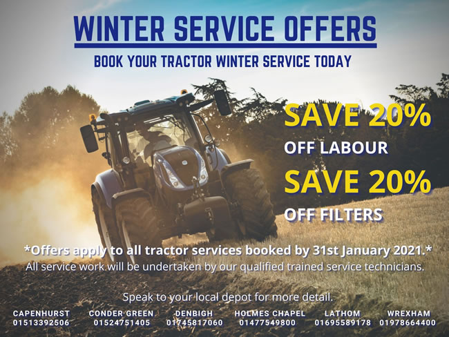 Tractor Winter Service Offer